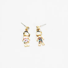 Load image into Gallery viewer, ESN032-Boy and Girl Earrings