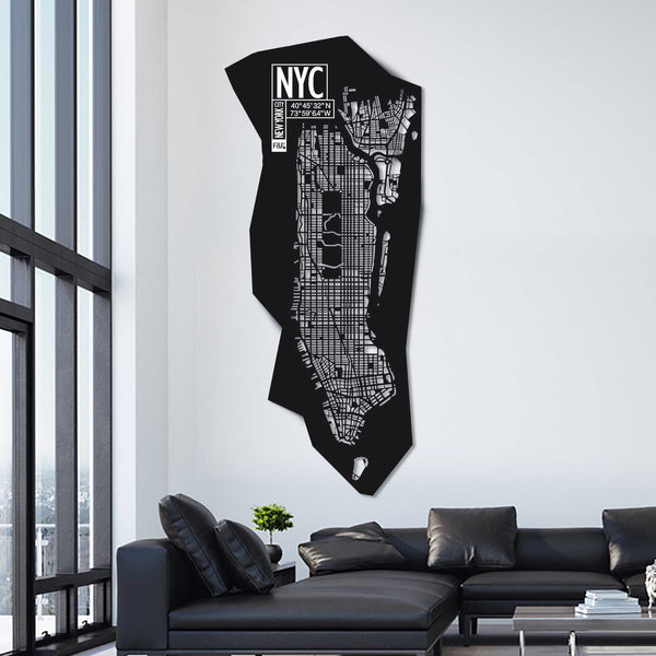 New York City | H 233 - W 102 | Unique Piece