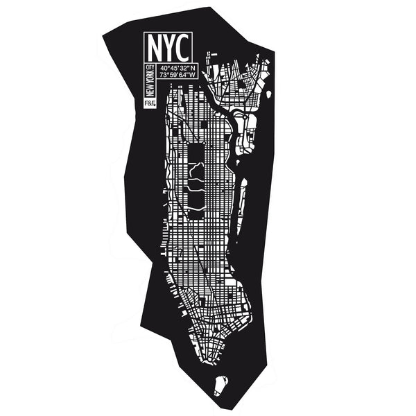 New York City | H 296 - W 140 cm | AVAILABLE | Free Shipping