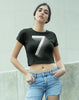 Number Seven Women's Crop Top