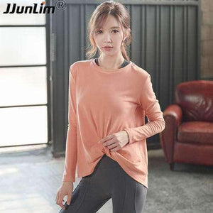 Loose Yoga Top - Orange / S