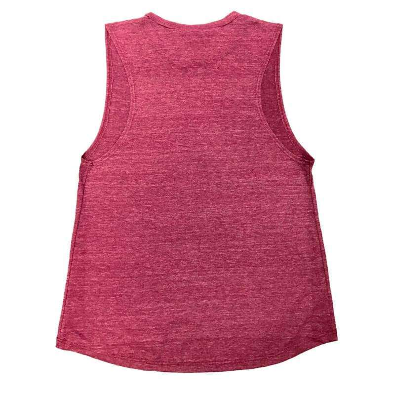 Muscles & Merlot Muscle Tank Top - Womens Clothing