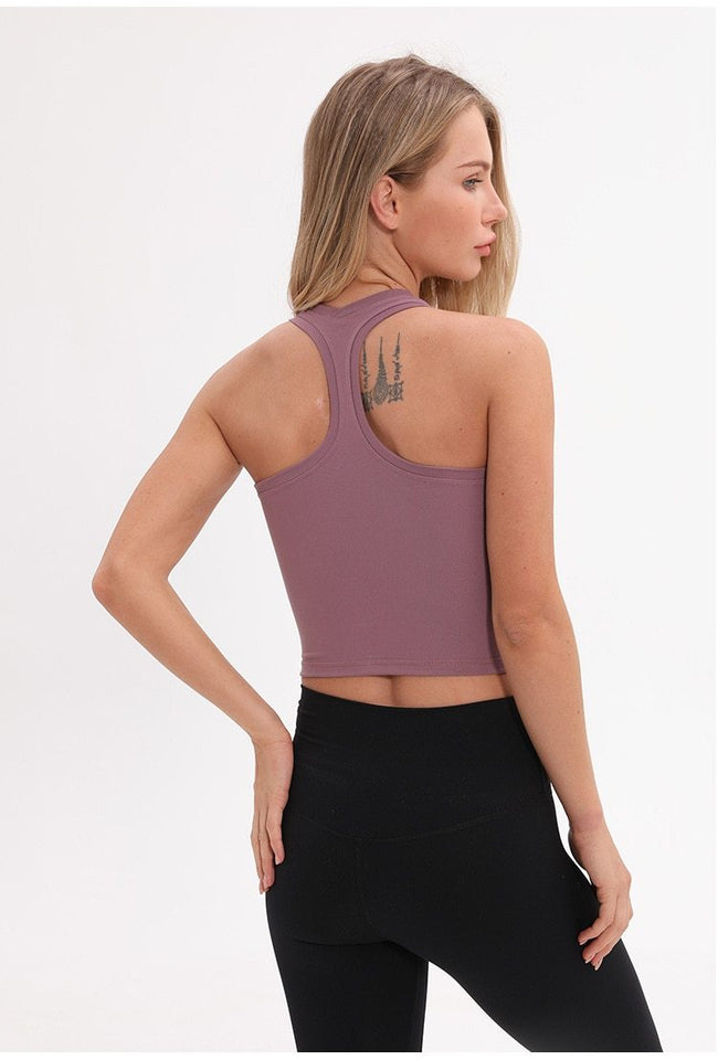 Flexible Sport Fitness Crop Top