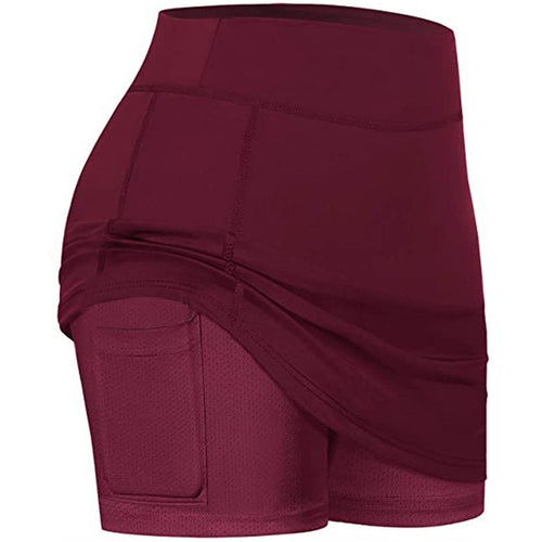 Ladies Active Skirt With Shorts