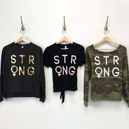 STRONG FEMALE - Pick Style - Womens Clothing