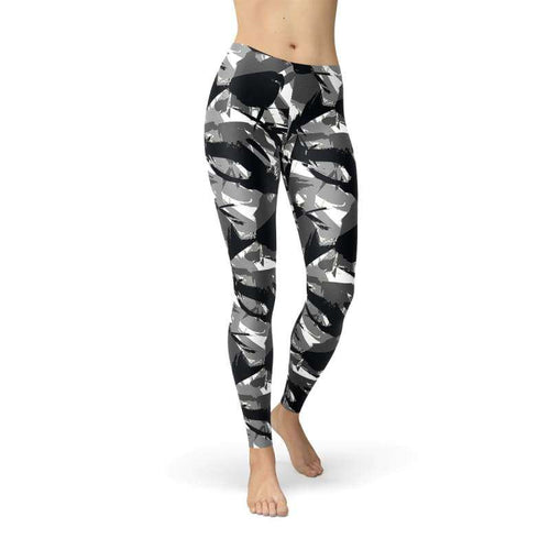 Womens Urban Camo Leggings - Leggings