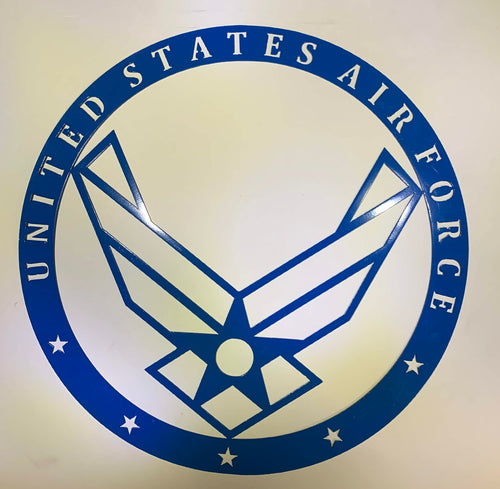 United States Air Force Solid Steel Insignia