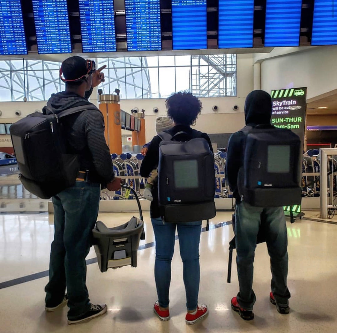Backpacks: The Convenient Carry-on
