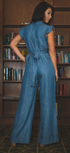 Load image into Gallery viewer, Crystal Belted Jumpsuit
