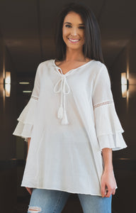 For The Love of Gauze Tunic
