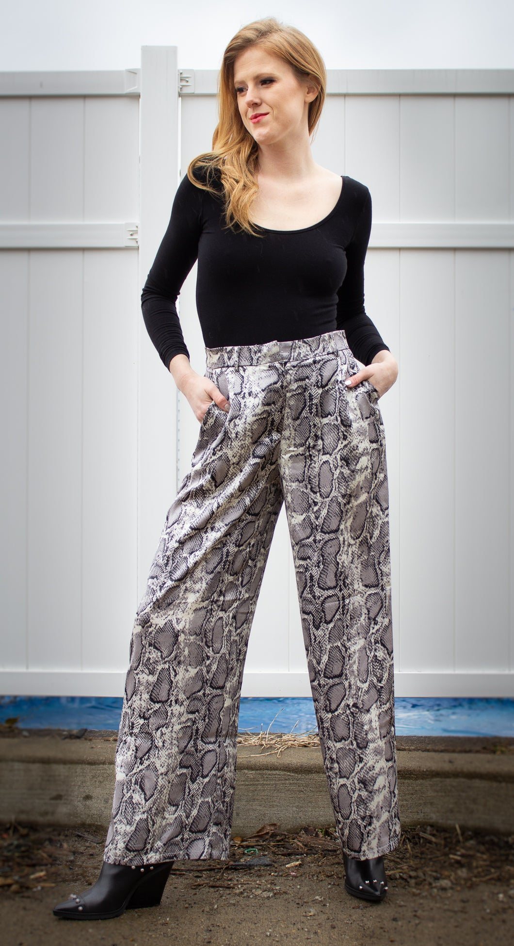 'Snake' You, Next. Palazzo Pants