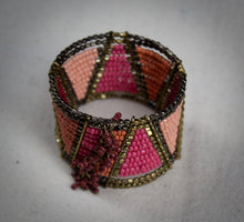 Load image into Gallery viewer, Geometric Warrior Cuff