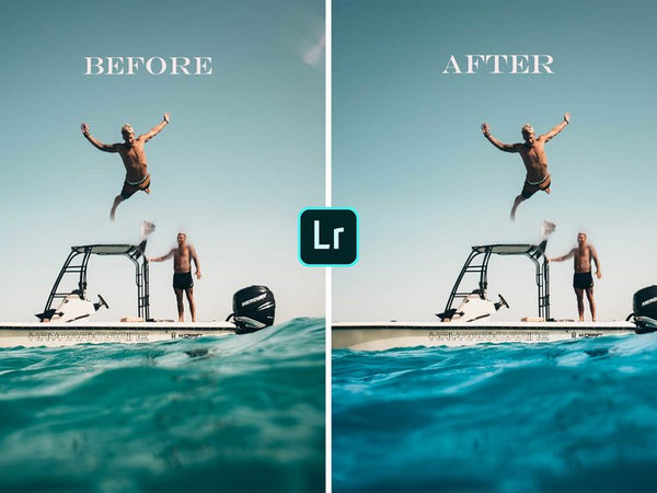 How To Edit Water Color from Green to Blue In Lightroom