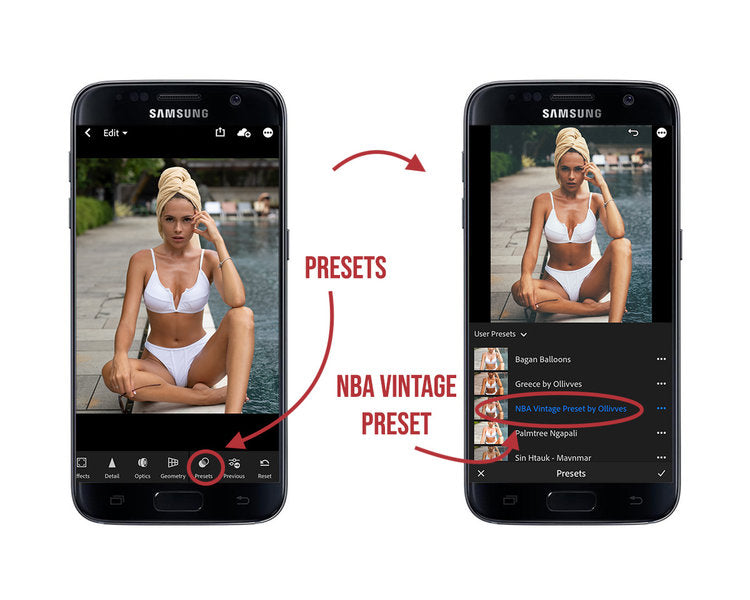How to install free Lightroom mobile presets on Android