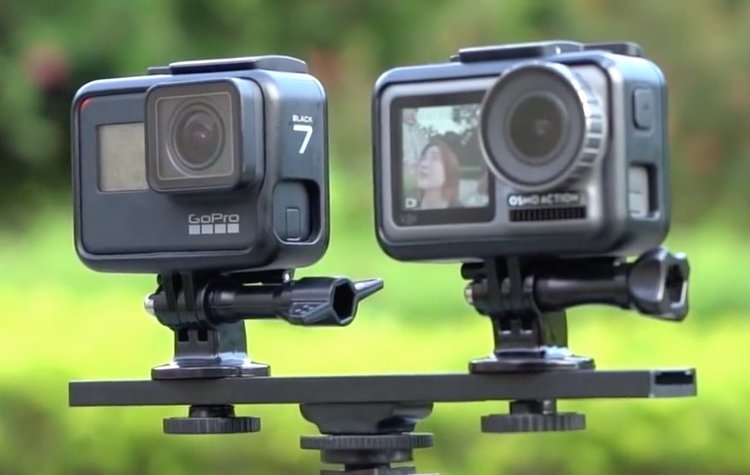 DJI Osmo Action vs. GoPro HERO 7 Black Comparison