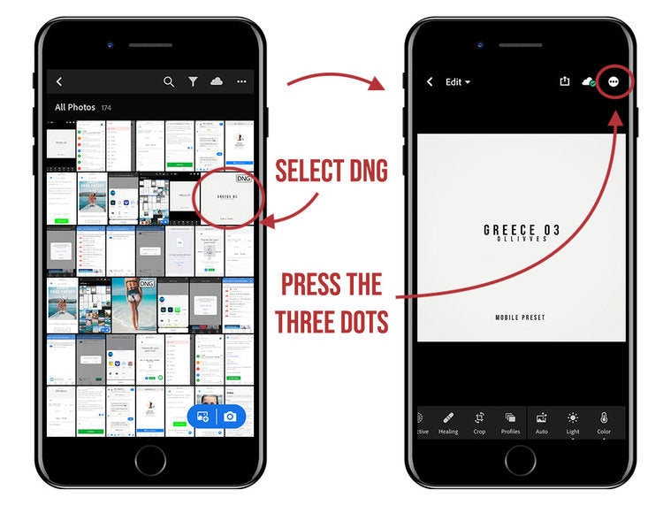 How to install free Lightroom mobile preset on iPhone