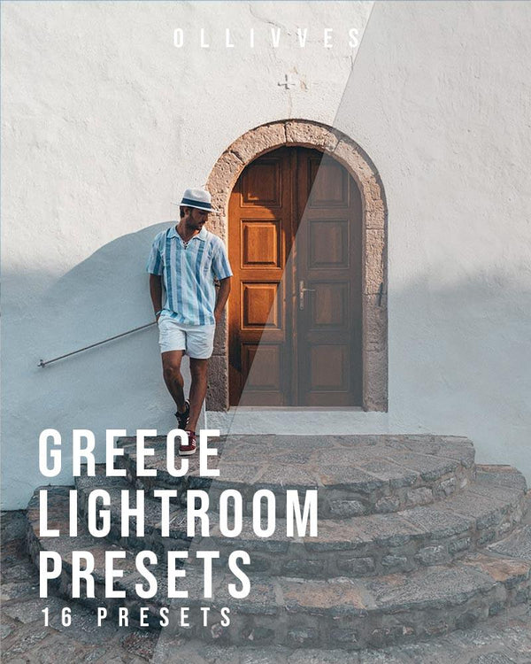 Greece presets for Lightroom mobile and desktop by ollivves
