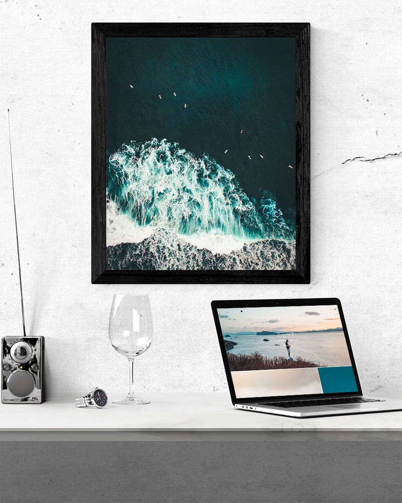SURF BREAK POSTER