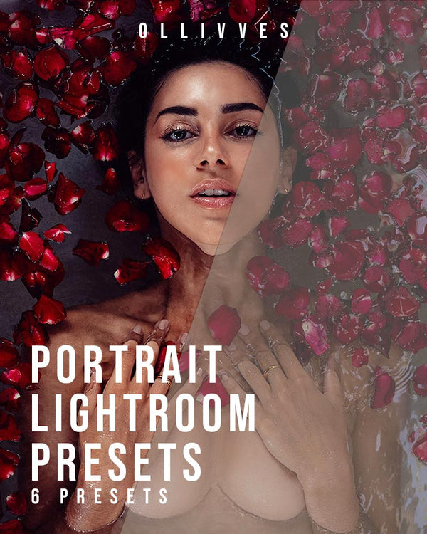 Portrait presets for Lightroom mobile and desktop by ollivves