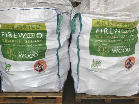 Certainly Wood bulk bags of logs