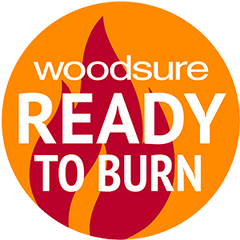 Ready to burn logo