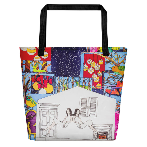 Vivid unique beach bag - colorful and flashy beachwear by Somejam - Advent of 2014 - Beach Bag
