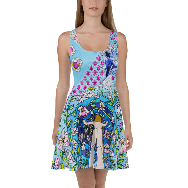 Bold and vivid Summer Dress - colorful and garish summer clothes by Somejam - Dress Up Doll - Skater Dress