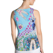 Bold and colorful tank top - striking and garish women shirts by Somejam - Dress Up Doll - Tank Top