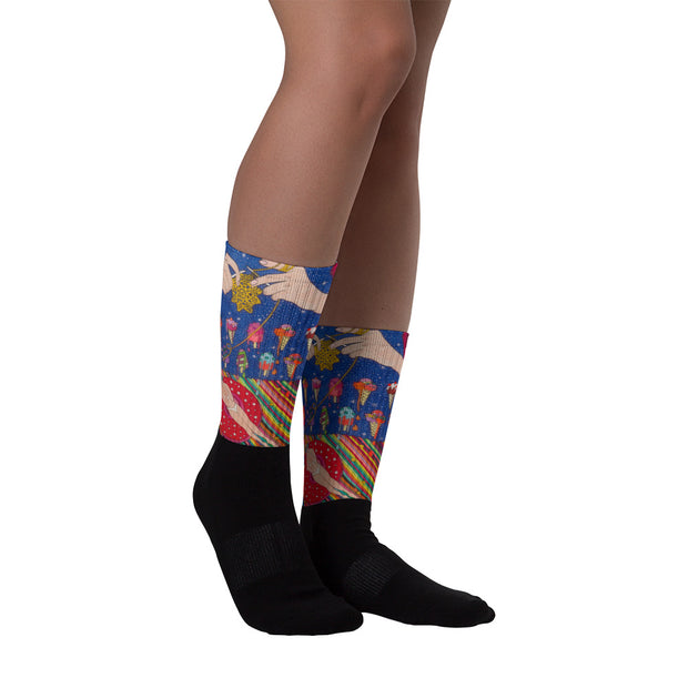 Colorful bold socks - vivid and colorful summer clothes by Somejam - Don't be afraid of melting - Socks