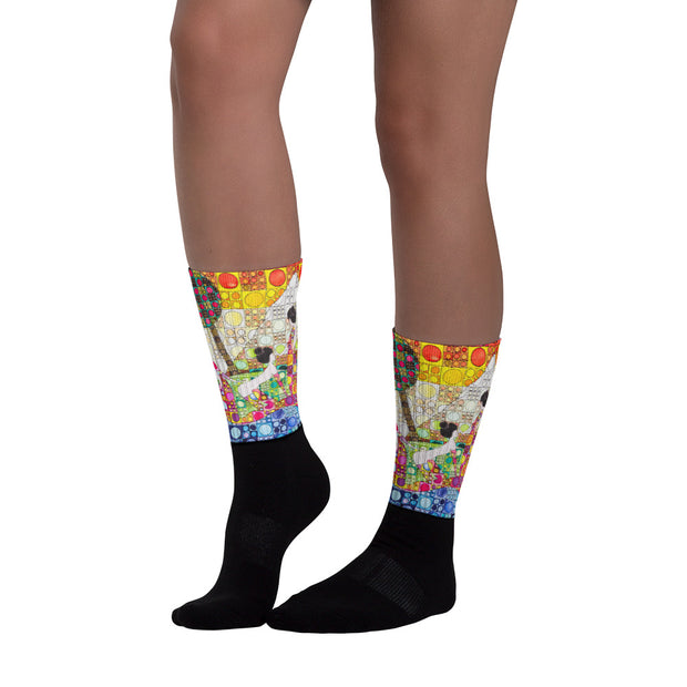 Colorful bold socks - vivid and colorful summer clothes by Somejam - Amazons out of Amazonas - Socks