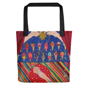 Unique and conspicuous tote bag - colorful and striking women clothing by Somejam - Don't be afraid of melting - Tote bag