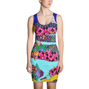 Colorful tight Summer Dress - vivid and garish summer clothes by Somejam - The big IT - Strait Dress