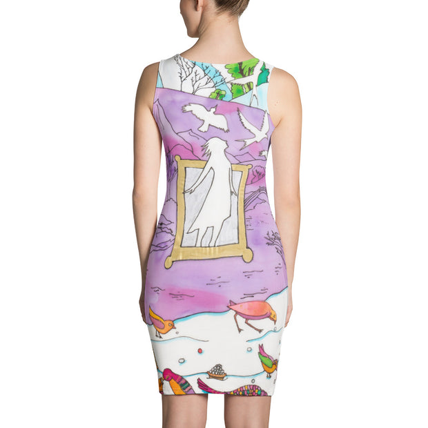 Colorful tight Summer Dress - vivid and garish summer clothes by Somejam - Show me your sorrow - Strait Dress