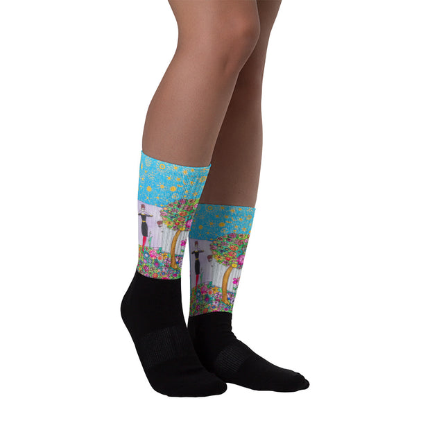 Colorful bold socks - vivid and colorful summer clothes by Somejam - Hide and seek - Socks