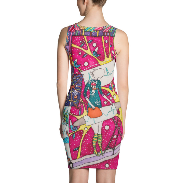Colorful tight Summer Dress - vivid and garish summer clothes by Somejam - Press the button to cancel - Strait Dress