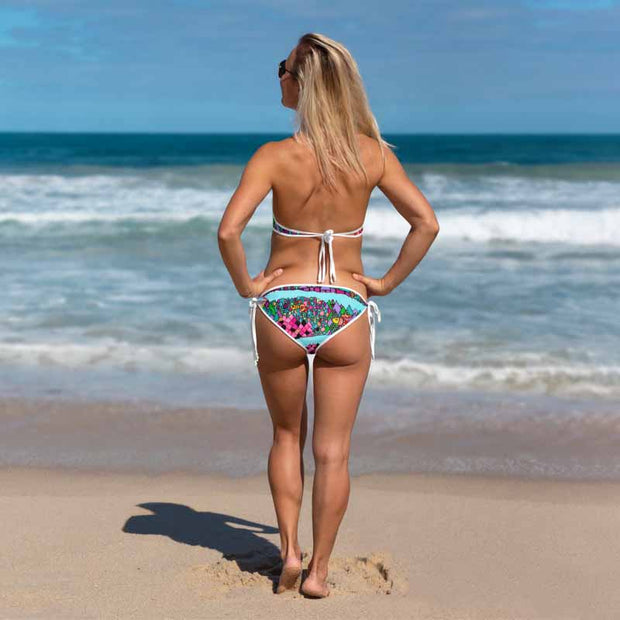Unique and reversible bikini - colorful and vivid beachwear by Somejam - The big IT - Bikini