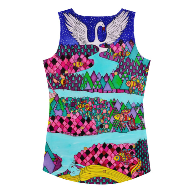 Bold and colorful tank top - striking and garish women shirts by Somejam - The big IT - Tank Top
