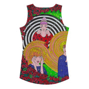 Bold and colorful tank top - striking and garish women shirts by Somejam - Du bist - Tank Top
