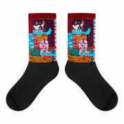 Colorful bold socks - vivid and colorful summer clothes by Somejam - Fatally sweet - Socks