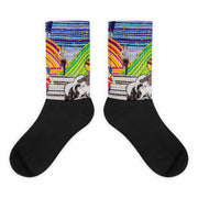 Colorful bold socks - vivid and colorful summer clothes by Somejam - Hare and Hounds - Socks