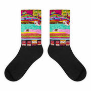 Colorful bold socks - vivid and colorful summer clothes by Somejam - The Princess and the Pea - Socks