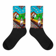 Colorful bold socks - vivid and colorful summer clothes by Somejam - Mind – the wife of the heart - Socks
