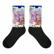 Colorful bold socks - vivid and colorful summer clothes by Somejam - Show me your sorrow - Socks