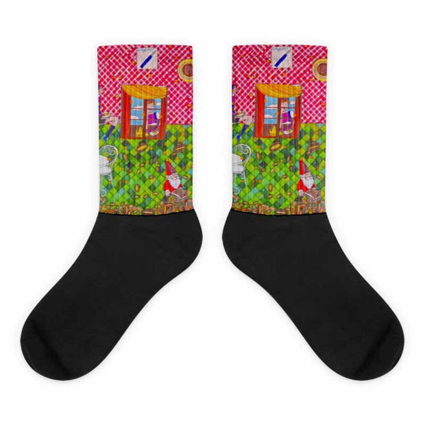 Colorful bold socks - vivid and colorful summer clothes by Somejam - …is happiness - Socks