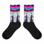 Colorful bold socks - vivid and colorful summer clothes by Somejam - To all my lovers - Socks