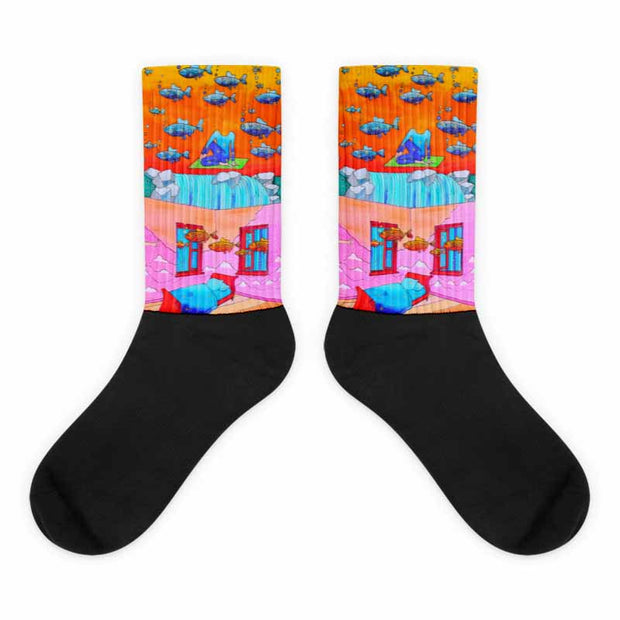 Colorful bold socks - vivid and colorful summer clothes by Somejam - What's being and what seems to be - Socks