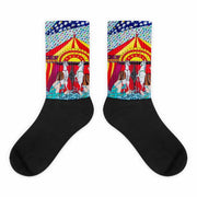 Colorful bold socks - vivid and colorful summer clothes by Somejam - The circus has surrendered - Socks