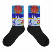 Colorful bold socks - vivid and colorful summer clothes by Somejam - Make waves move mountains! - Socks