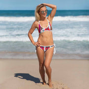 Unique and reversible bikini - colorful and vivid beachwear by Somejam - The circus has surrendered - Bikini