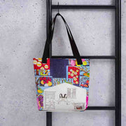 Unique and conspicuous tote bag - colorful and striking women clothing by Somejam - Advent of 2014 - Tote bag